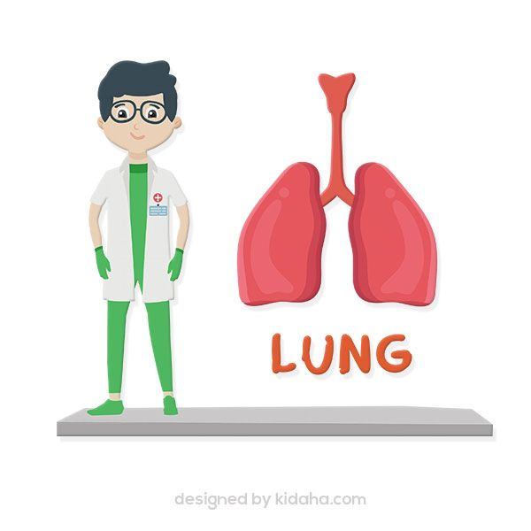 Boy Doctor And Lung