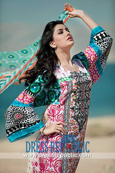 Maria B Lawn 2014 Collection with Prices | Pakistani Designers Online Shop Online Maria B Lawn 2014 Collection with Prices