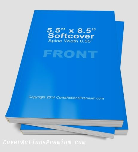 Softcover Book Photoshop Cover Actions