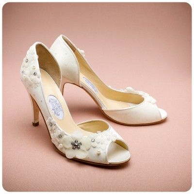 Blossom Time Wedding Shoes By Diane Hassall Available To Buy