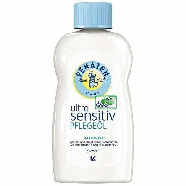 Penaten Ol Baby Ultra Sensitiv Pflegeol Bei Neurodermitis Parfumfrei 200ml Skin Care Home Remedies Baby Oil Baby Skin Care