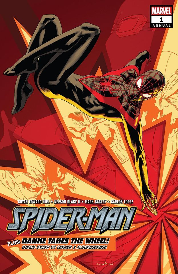 Spider Man Annual 1 Kris Anka Marvel Spiderman Spiderman