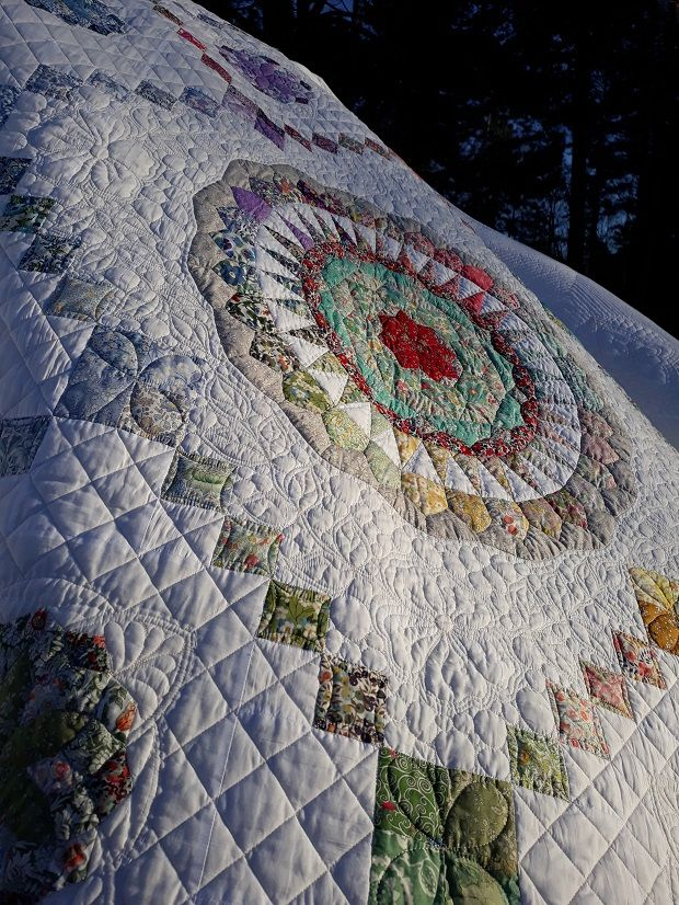 The Ripple Effect Quilt A True Challenge Pfaff Quilts Expressions