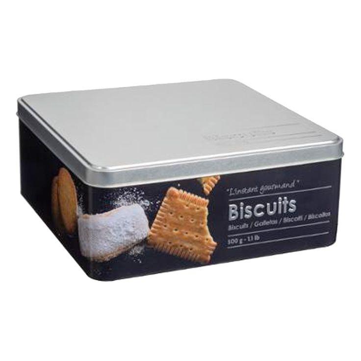 Boîte à biscuits en relief