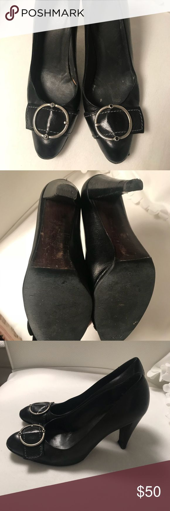 Stuart Weitzman Black Pump Perfect for work or nailing that interview !  Work but like all my shoes in excellent condition with sole protectors and new heels.   🖤🖤 Stuart Weitzman Shoes Heels