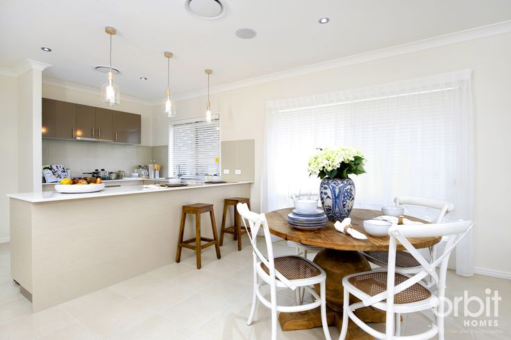The dining and breakfast bar is perfect for family meals