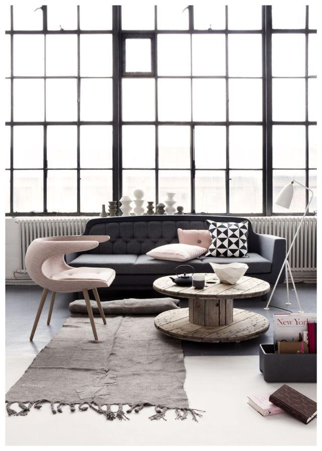 OOOH....The Chair!!....szaro- różowa sesja via-burza mózgów czyli o urządzaniu domu