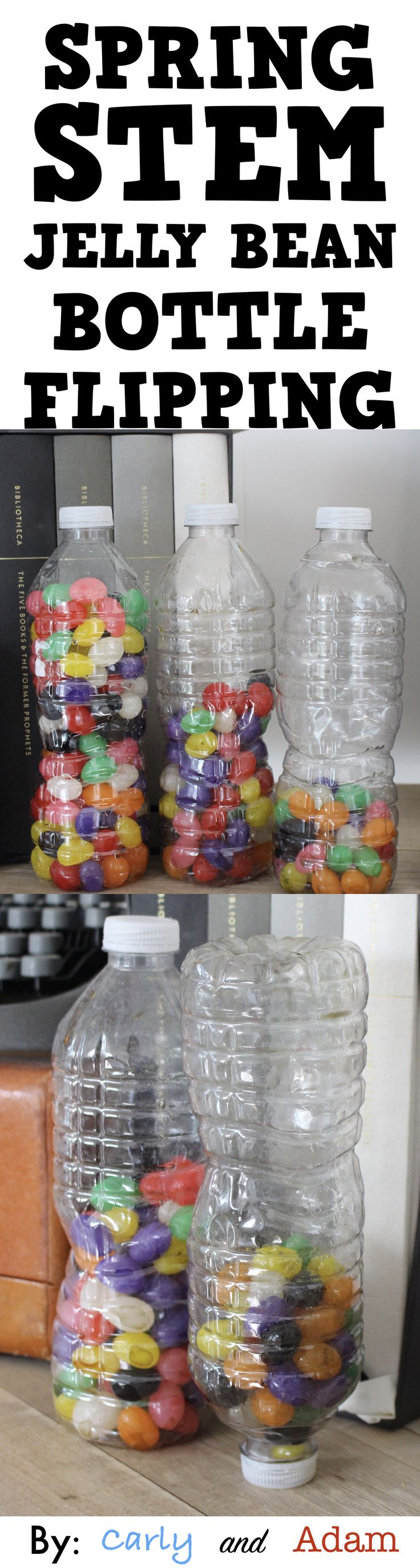 Get your students pumped up for spring and STEM! Conduct an experiment to see which water bottle filled with jelly beans will land vertically the most times. Students make a prediction and test their hypothesis. After they have completed their activity, there is time for reflection on what worked and what didn't. It aligns with the NGSS (Next Generation Science Standards).