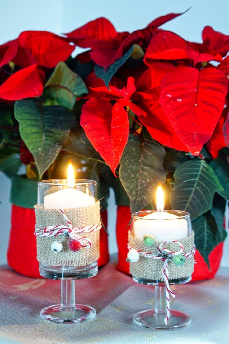świecznik // diy candle holder
