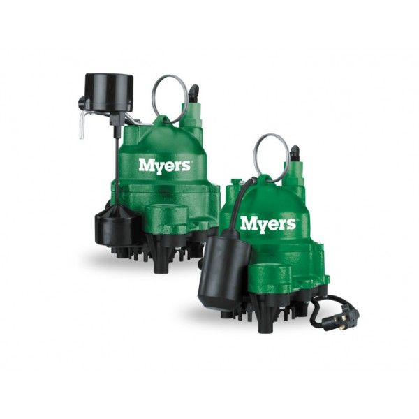myers mdc33 hp 1115v rpm submersible sump pump with a 15