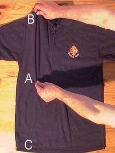 T-Shirt in unter 2 Sekunden zusammenlegen? Wir verraten den Trick! - funktioniert wenn es schnell gehen soll und wenn die Faulheit siegt