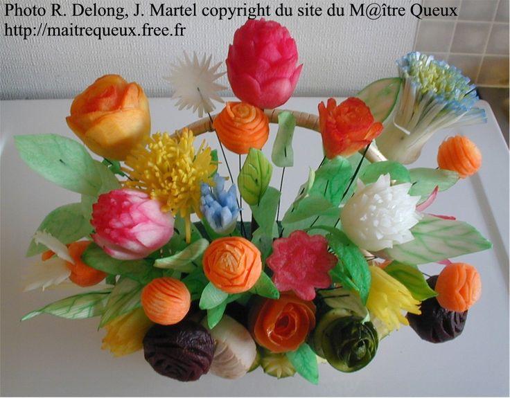 1000 Id Es Sur Le Th Me Sculpture Sur L Gumes Sur Pinterest Sculptures Sur Fruits Garnitures