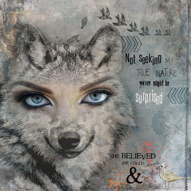 My true Nature Birthday Oscrap - Clin d'oeil Design  pour le 11e anniversaire Oscraps