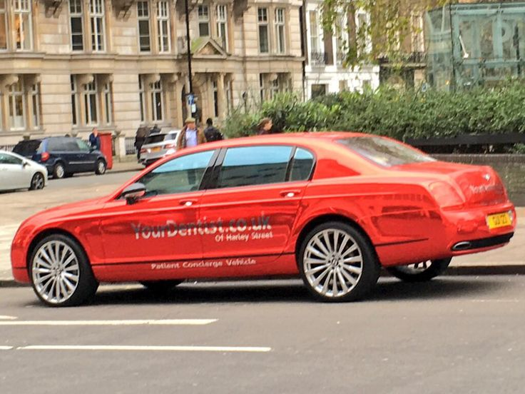 If you owned a Bentley, would you do this to it?