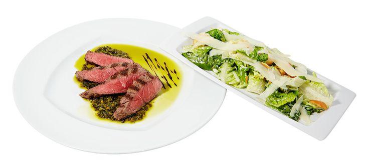 Black Angus rump steak 200 g, 19,90 €. Black Angus rump steak 200 g chimichurrikastikkeella ja caesarsalaatilla. Norm. 29,50 €. BBQ House, 1. KRS