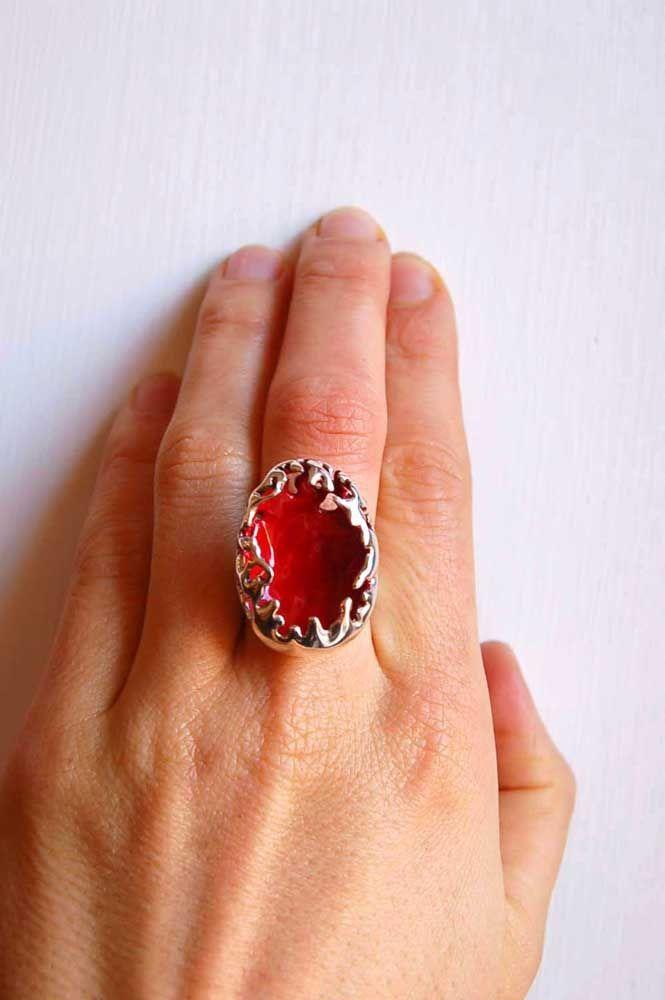 silver ring Morbid