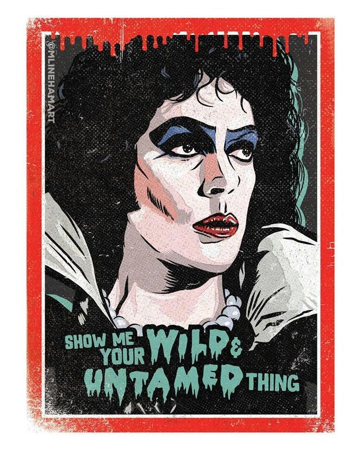 Vintage Horror Funny Movie Posters In 2020 Rocky Horror Picture Vintage Horror Rocky Horror Picture Show