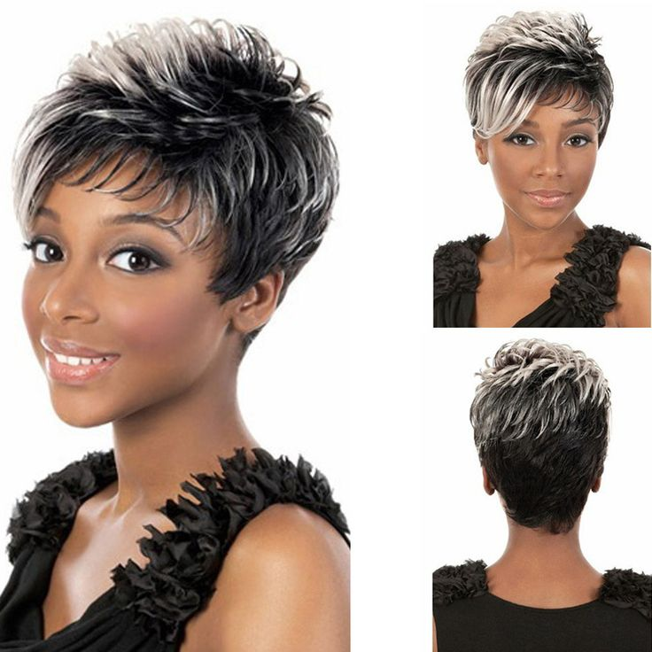 Fashion Sexy Synthetic Fluffy Slightly Curly Wavy Women Wigs Turn Up Short Hair Wig Girl Gift Linen
