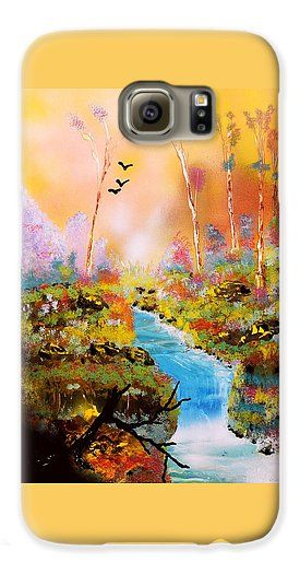 Land Of Oz Galaxy S6 Case Printed with Fine Art spray painting image Land Of Oz by Nandor Molnar (When you visit the Shop, change the orientation, background color and image size as you wish)