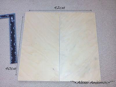Творческая страничка (handmade): Как я делал свои первые нарды..