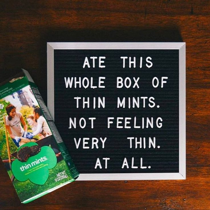 So you're saying you still have your box of Samoas and Tagalongs? GIMME. : @thrualyssaslens