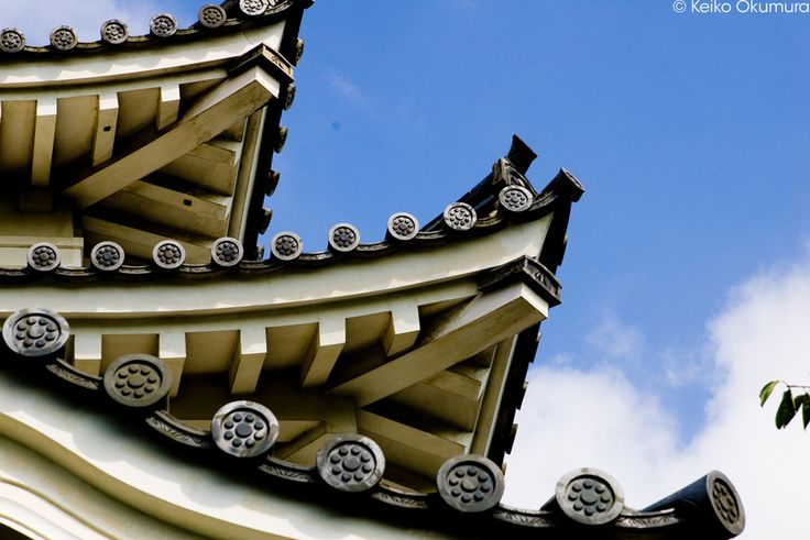 The roof of the castle in Uwajima  by keiko okumura on 500px