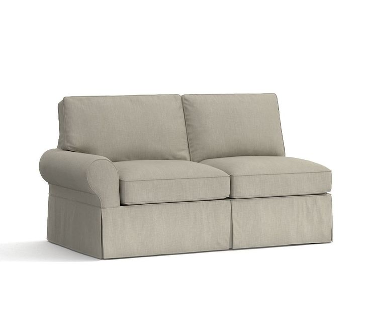 Pb Basic Sofa Slipcover Ebay: PB Basic Armless Love Seat Slipcover