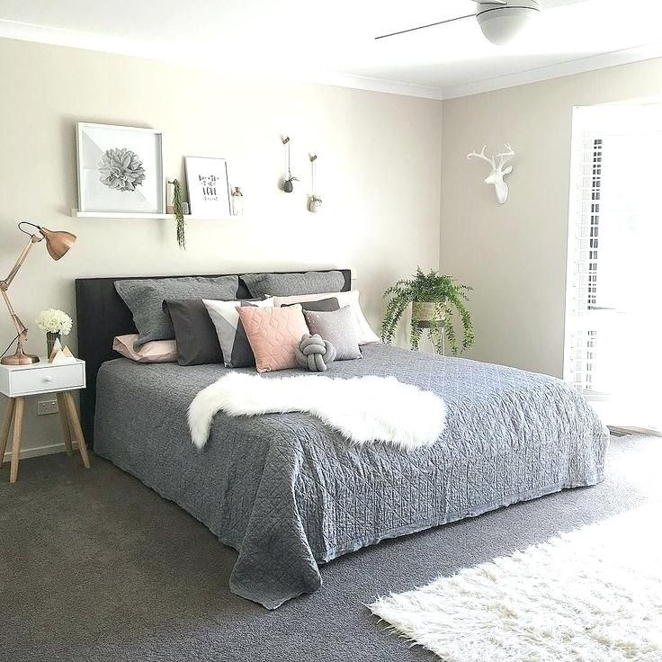 Kmart Bedroom Ideas Grey And White Themed Bedroom Add More Soft