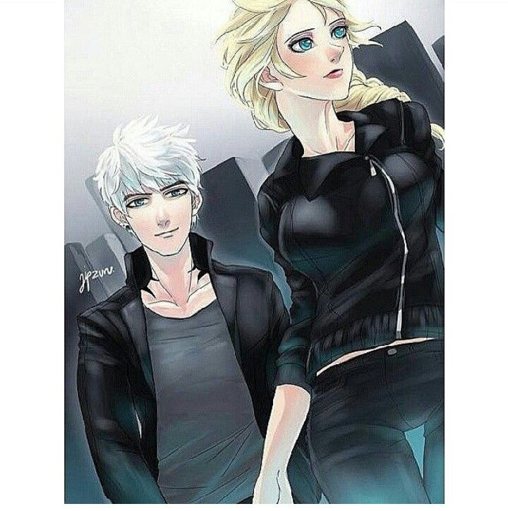 Jelsa & Divergent!!!!! Four (Jack Frost) Tris (Elsa)! ♥♥♥♥♥