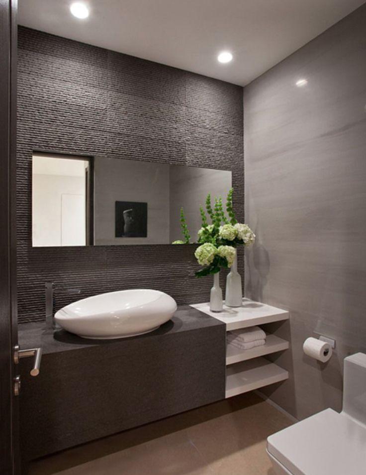 Azulejos Para Baño Puerto Rico:Modern Powder Room Bathroom Ideas