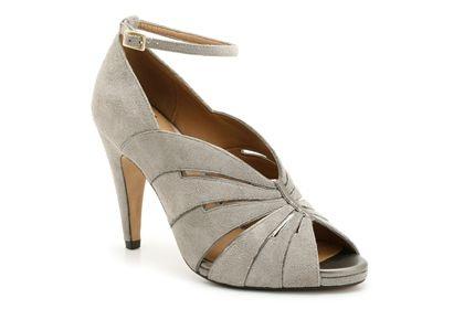 Escarpins Clarks Tartan Curtain habillé femme, argent prix promo Clarks 99,95 € TTC: Chaussures Pas