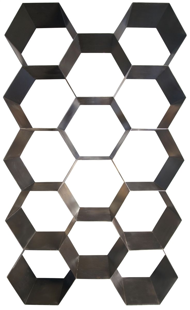 Bee Hive Bookcase, Metal, From Noir Furniture LA