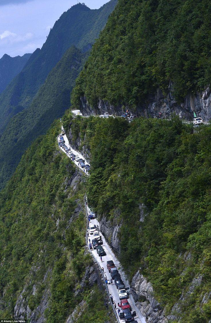 Alam Mengembang Jadi Guru: Jalan Langit China yang Luar Biasa