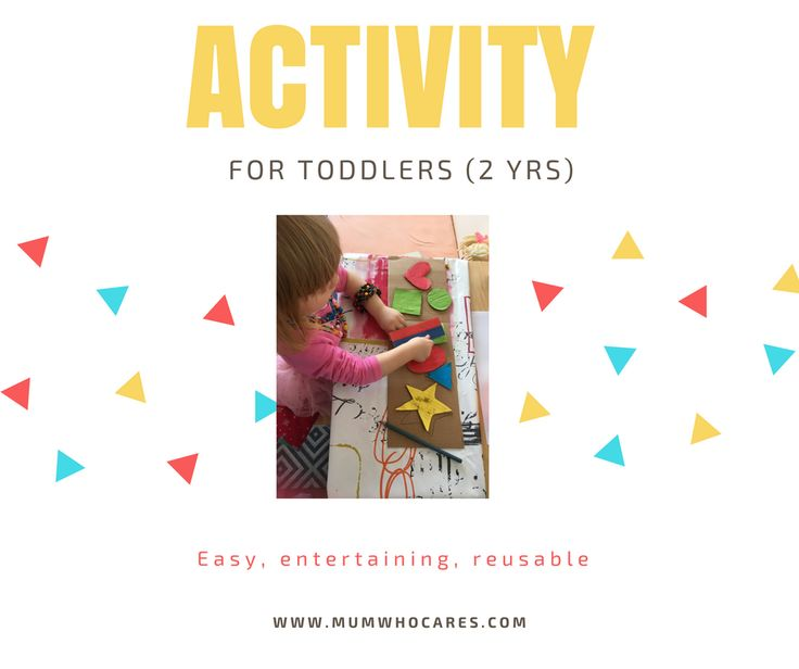 PostShapes and colours - activity for toddlers — Mum who caresMum who cares