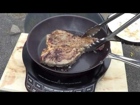how to cook a steak on a sear burner