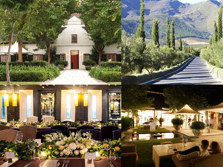 vineyards wedding venues south africa