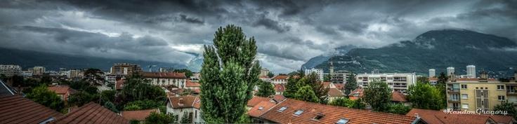Nouveau Panoramique de mon balcon...    www.gregrandon.com