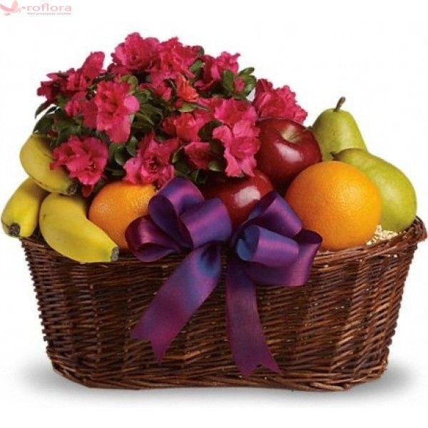 Freshness - Cos cu fructe si plante