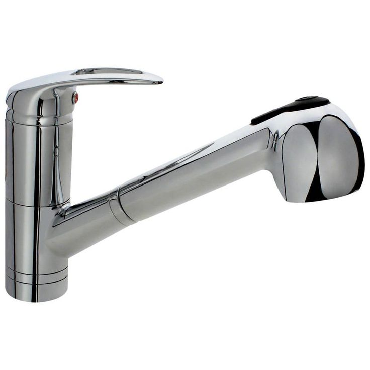 Sir Faucet Solid Single Handle Pull-out Kitchen Faucet