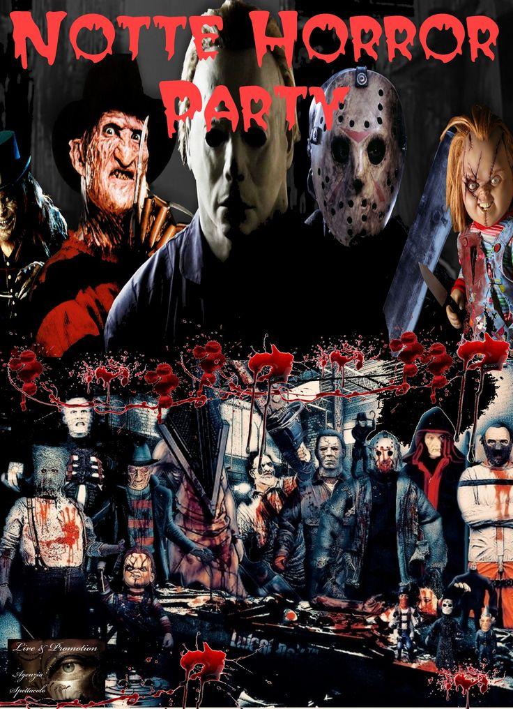 Confrontati con i personaggi più paurosi dei film Horror !!! Cerca di rimanere in vita in questo party del brivido !!!