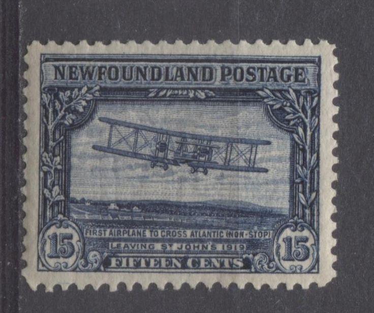Newfoundland #156 15c Indigo 1928 Publicity Line Perf 14.1 x 14 VF- 80 NH