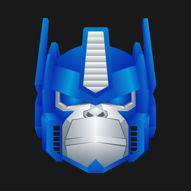 Awesome 'Optimus+Primate' design on TeePublic!