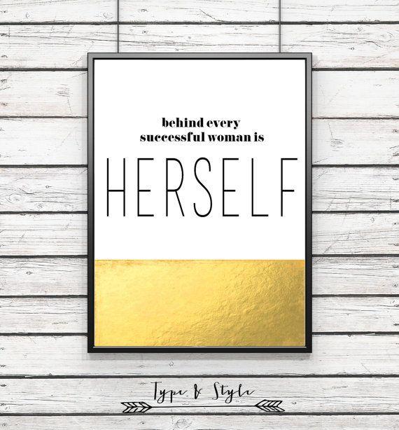 Feminine inspirational Quote Framed Poster Framed