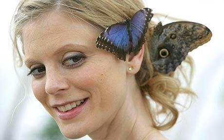 Emilia Fox has become a patron of Butterfly World near St Albans