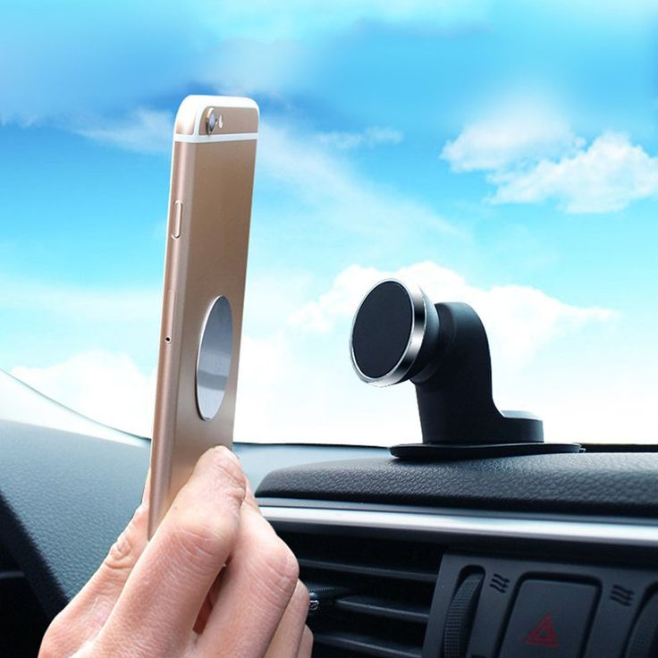 "Bakeeyâ""¢ Universal Strong Magnetic Car Mount Desktop Dashboard Cell Phone Holder for Xiaomi Sansumg"