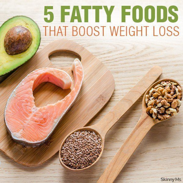 5 Fatty Foods That Boost Weight Loss!