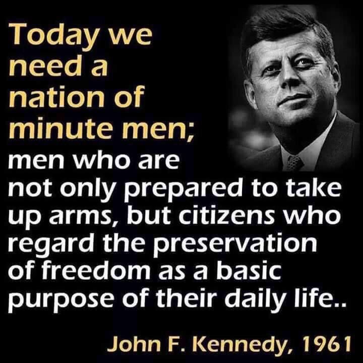 Patriotism is frowned upon by TODAYS Democrats. JFK is not a representative of Today's Democrat party. He wanted to PROTECT AMERICA, be innovative pushing us to strive to EXCEL. (OBAMA believes in a weak AMERICA where patriotism is admonished.)