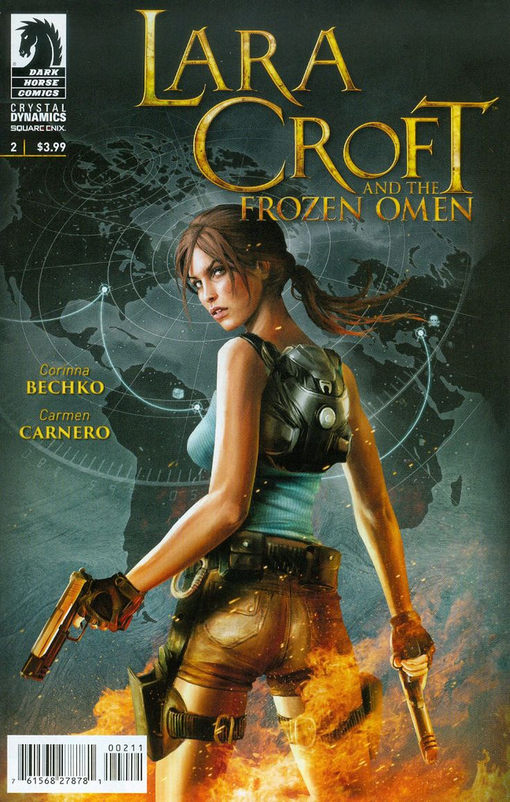 Lara Croft And The Frozen Omen #2