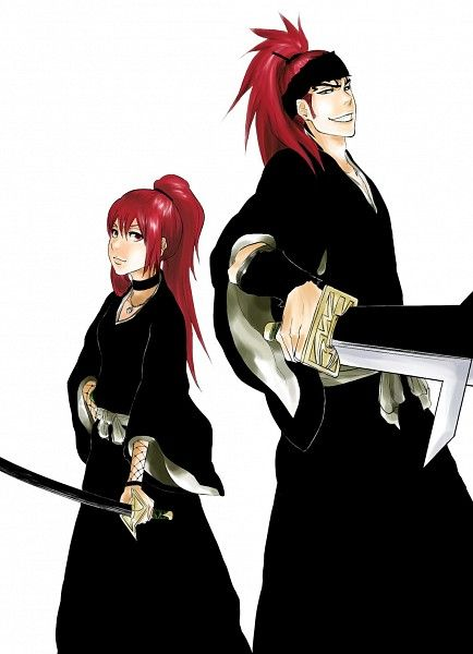 Renji And His Daughter Ichika ...  #Bleach