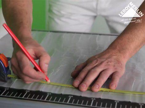Comment poser du carrelage mural sans colle avec Cristalgrip ? | Leroy Merlin en 2020 | Comment ...